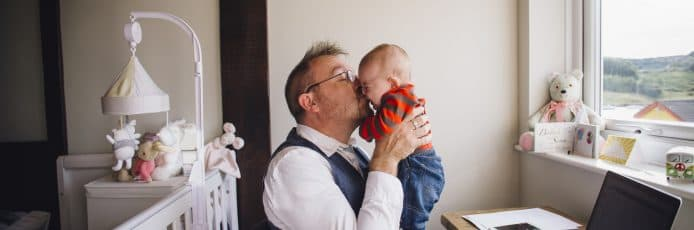 One in four new dads are missing out on paternity leave and pay