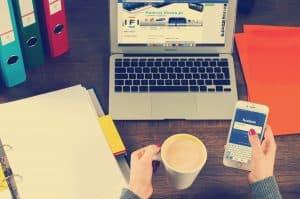 Social media rights in work