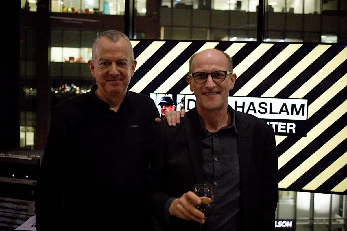 Dave Haslam with Managing Partner, Chris Bishop